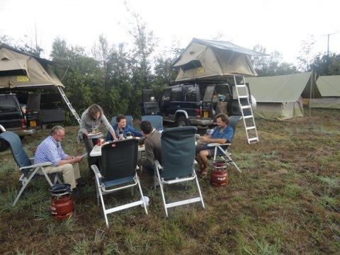 Camping at Moof